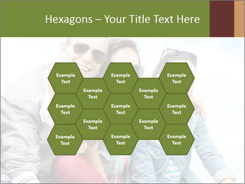 Friends Hanging Together PowerPoint Template - Slide 44