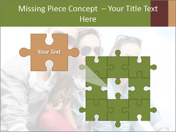Friends Hanging Together PowerPoint Template - Slide 45