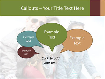 Friends Hanging Together PowerPoint Template - Slide 73