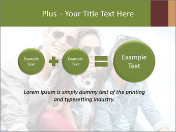Friends Hanging Together PowerPoint Template - Slide 75