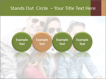 Friends Hanging Together PowerPoint Template - Slide 76