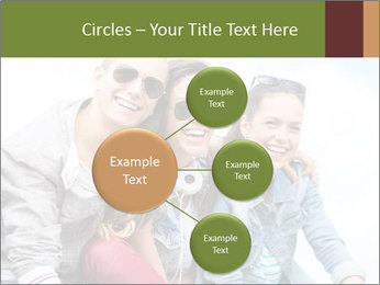 Friends Hanging Together PowerPoint Template - Slide 79