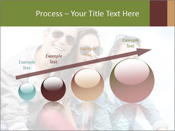 Friends Hanging Together PowerPoint Template - Slide 87