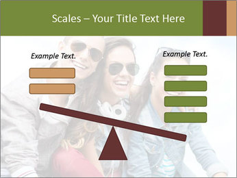 Friends Hanging Together PowerPoint Template - Slide 89