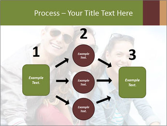 Friends Hanging Together PowerPoint Template - Slide 92