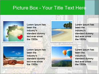Brazilian Beach Panorama PowerPoint Templates - Slide 14
