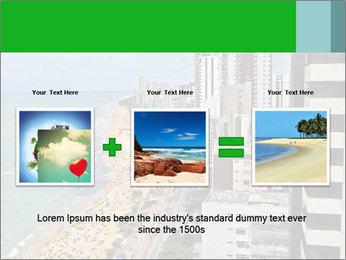 Brazilian Beach Panorama PowerPoint Template - Slide 22