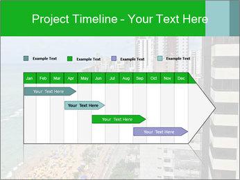 Brazilian Beach Panorama PowerPoint Template - Slide 25