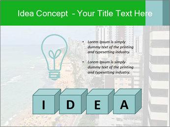 Brazilian Beach Panorama PowerPoint Template - Slide 80