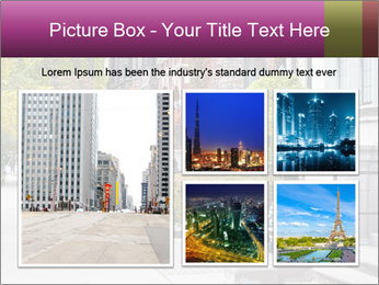 Urban Neighborhood PowerPoint Template - Slide 19