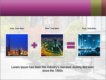 Urban Neighborhood PowerPoint Template - Slide 22