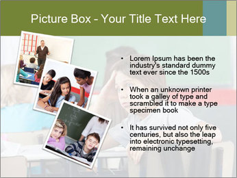 Boy Bored At School PowerPoint Template - Slide 17