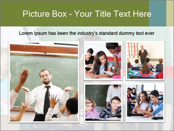 Boy Bored At School PowerPoint Template - Slide 19