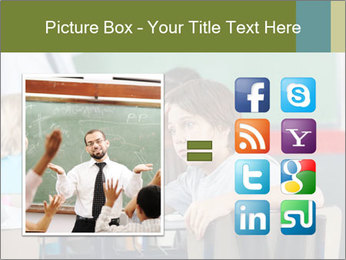 Boy Bored At School PowerPoint Template - Slide 21