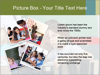 Boy Bored At School PowerPoint Template - Slide 23