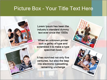 Boy Bored At School PowerPoint Template - Slide 24