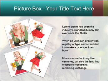 Woman With Perfect Face PowerPoint Template - Slide 23