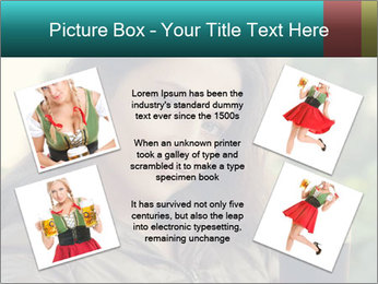 Woman With Perfect Face PowerPoint Template - Slide 24