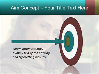 Woman With Perfect Face PowerPoint Template - Slide 83