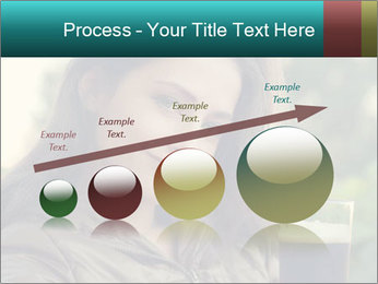 Woman With Perfect Face PowerPoint Template - Slide 87