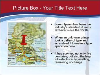 French Province Flag PowerPoint Templates - Slide 13