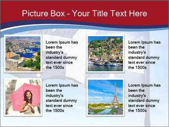 French Province Flag PowerPoint Templates - Slide 14