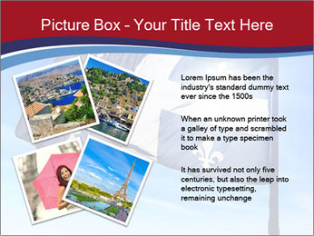 French Province Flag PowerPoint Templates - Slide 23
