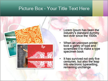 Water Color Flowers PowerPoint Template - Slide 20