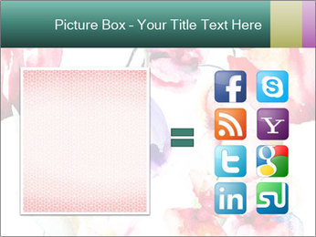 Water Color Flowers PowerPoint Template - Slide 21