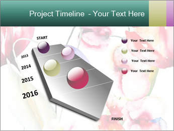 Water Color Flowers PowerPoint Template - Slide 26