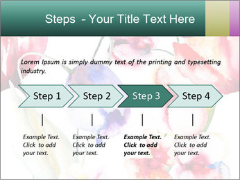 Water Color Flowers PowerPoint Template - Slide 4