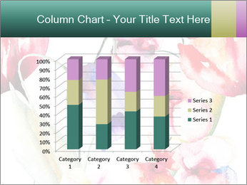 Water Color Flowers PowerPoint Template - Slide 50