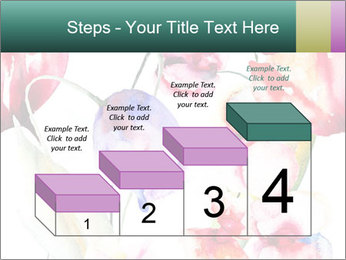 Water Color Flowers PowerPoint Template - Slide 64