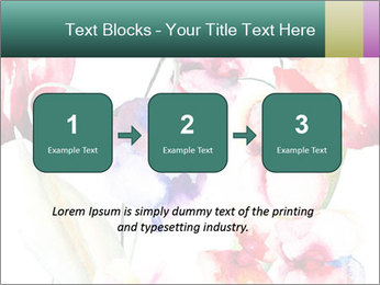 Water Color Flowers PowerPoint Template - Slide 71