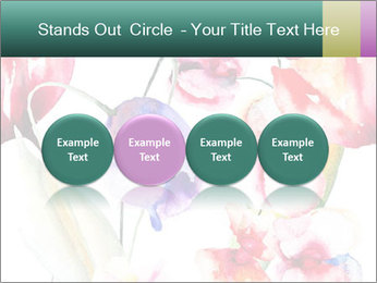 Water Color Flowers PowerPoint Template - Slide 76