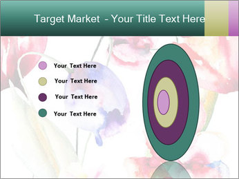Water Color Flowers PowerPoint Template - Slide 84