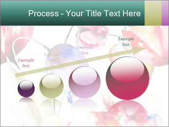 Water Color Flowers PowerPoint Template - Slide 87