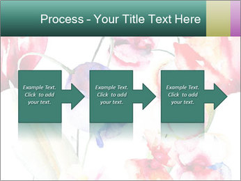 Water Color Flowers PowerPoint Template - Slide 88