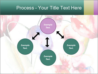 Water Color Flowers PowerPoint Template - Slide 91