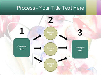 Water Color Flowers PowerPoint Template - Slide 92