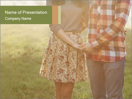 Countryside Love Couple PowerPoint Templates