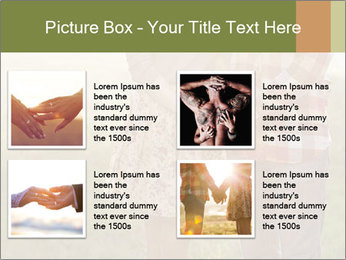 Countryside Love Couple PowerPoint Template - Slide 14