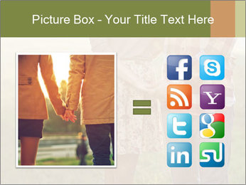 Countryside Love Couple PowerPoint Templates - Slide 21