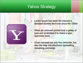 Woman In Boutique PowerPoint Template - Slide 11