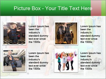 Woman In Boutique PowerPoint Templates - Slide 14