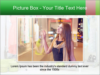 Woman In Boutique PowerPoint Templates - Slide 16