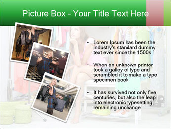 Woman In Boutique PowerPoint Template - Slide 17