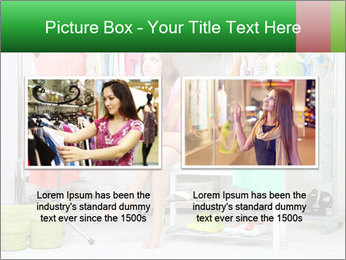 Woman In Boutique PowerPoint Templates - Slide 18