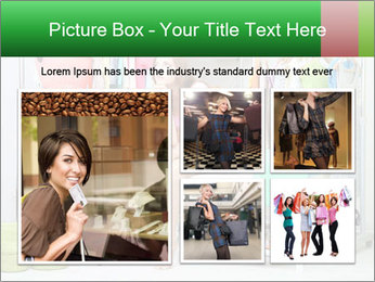 Woman In Boutique PowerPoint Templates - Slide 19
