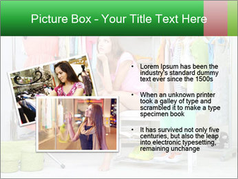 Woman In Boutique PowerPoint Templates - Slide 20